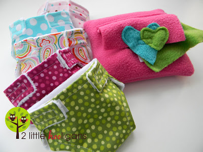 diaper & baby wipes for dolls
