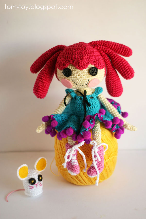 Lalaloopsy Toy Food : Tomtoy lalaloopsy doll