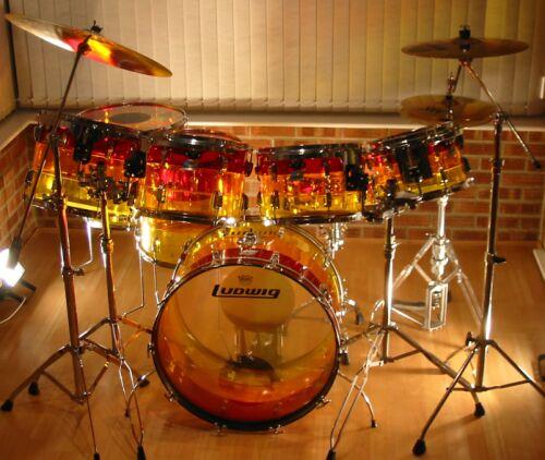 Ludwig Drums Wallpapers Ludwig Amber Vistalite Drum
