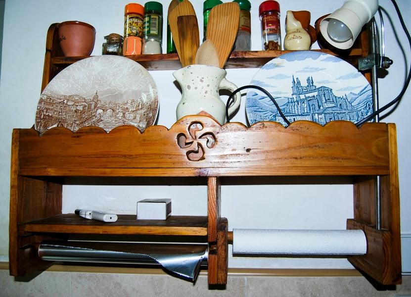 Estanterias hechas con madera de palet bricolaje - Estanteria hecha con palets ...