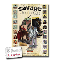 Frugal GM Review: Savage Characters Volume One