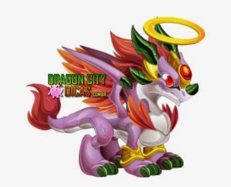 Dragão Anjo Sombrio