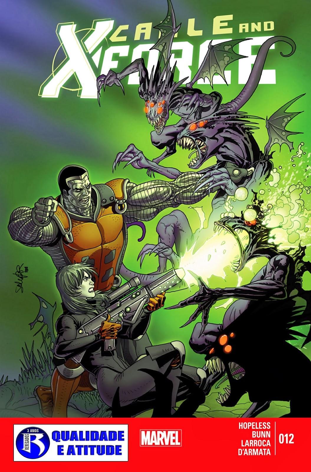 Nova Marvel! Cable e a X-Force #12