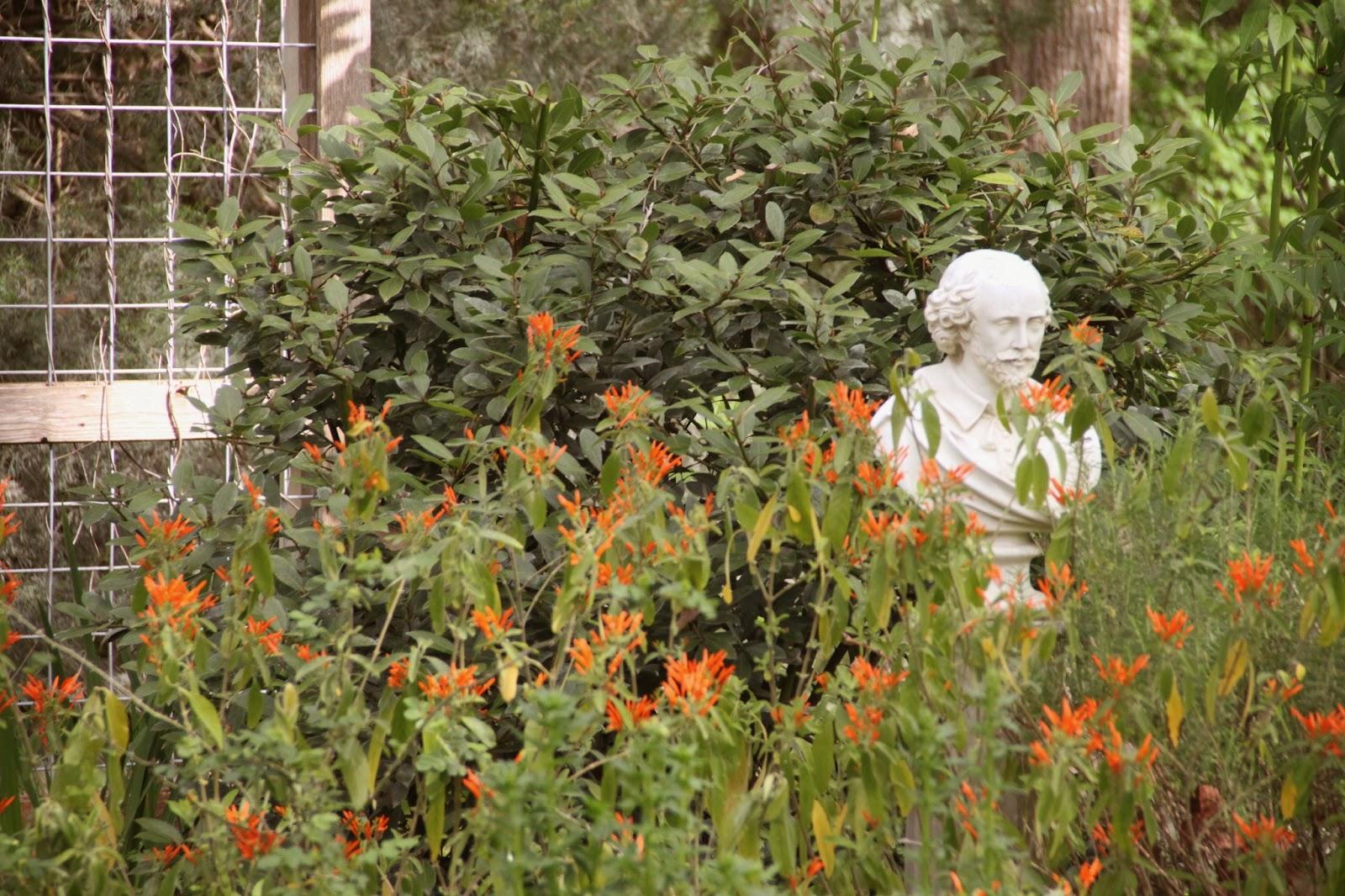 Rock-Oak-Deer: Shakespeare Garden at Festival Hill