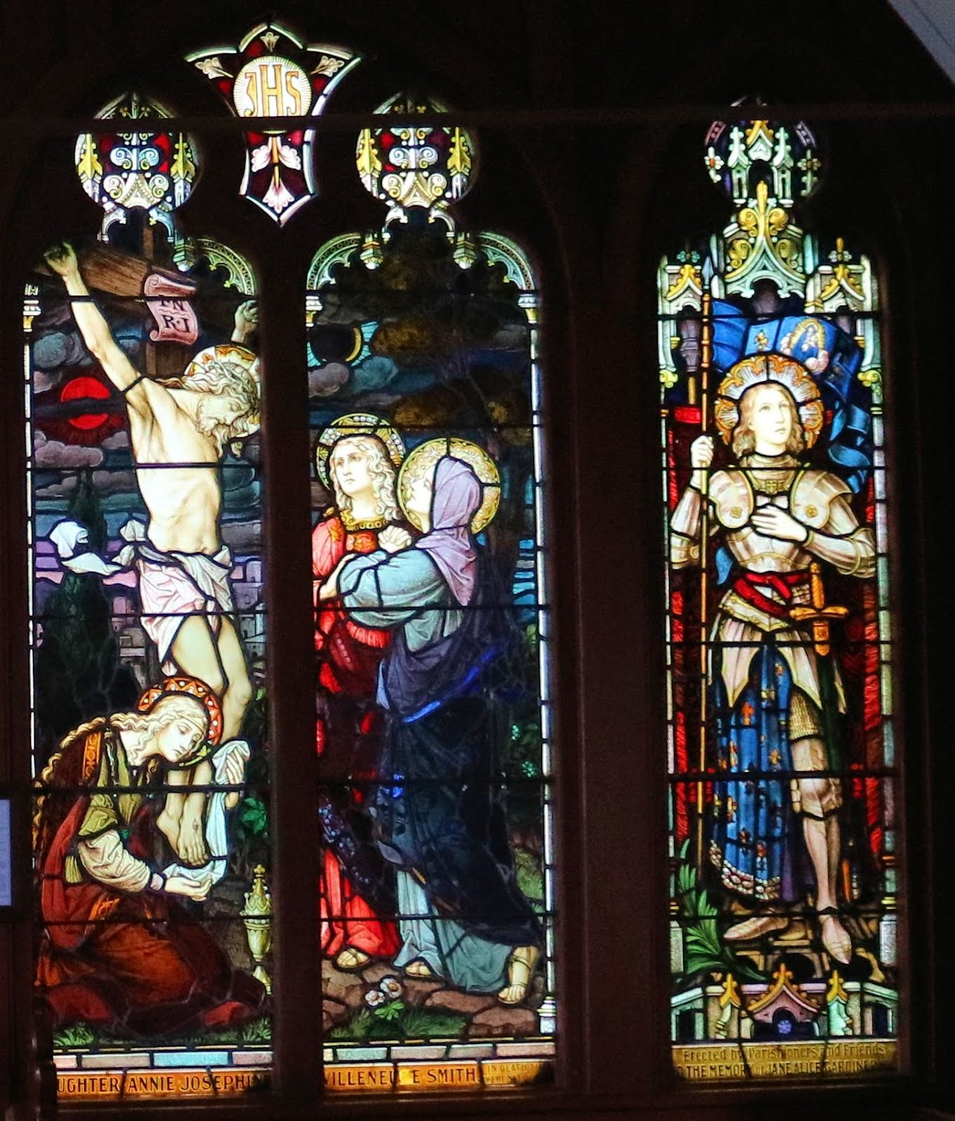 St Barnabas Church Stained Glass Windows