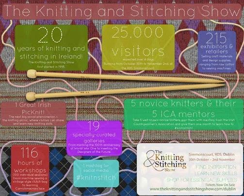 The Knitting And Stitching Show 2017 Rds : A Passion For Cards: RDS - tomorrow and Saturday
