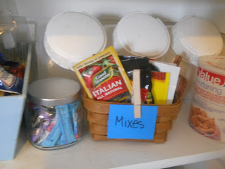 Crystal light organization, how to organize your pantry, DIY pantry