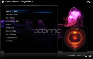 XUNITYTALK MUSIC XBMC