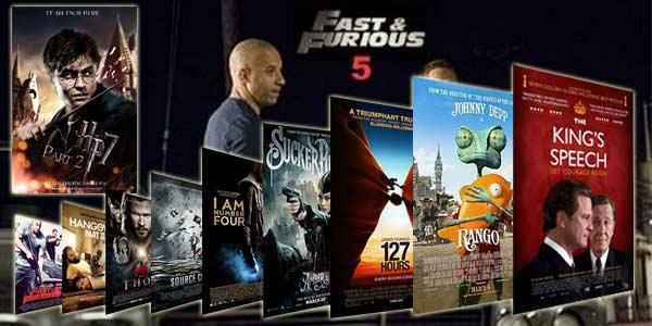 10 Film Paling Banyak Dibajak Tahun 2011