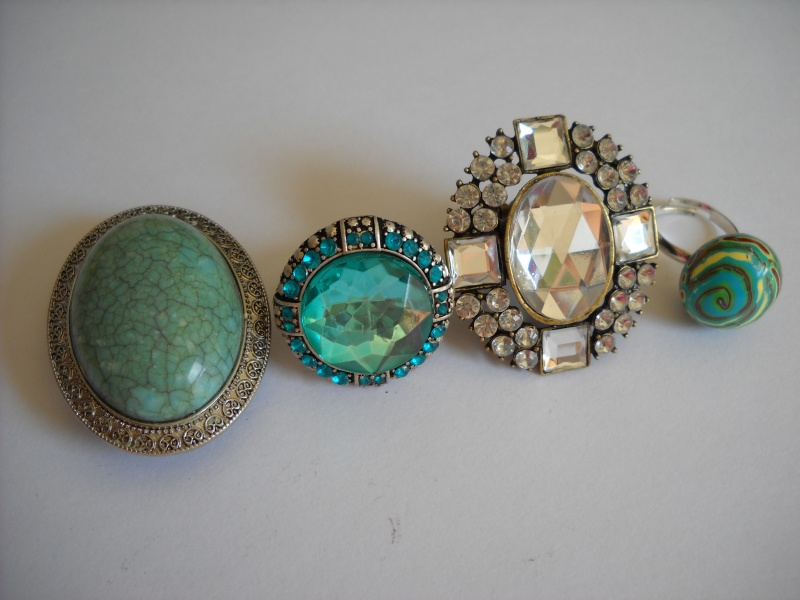 Adjustable Rhinestone Rings