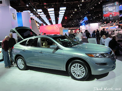 Honda Accord Crosstour at COBO Hall