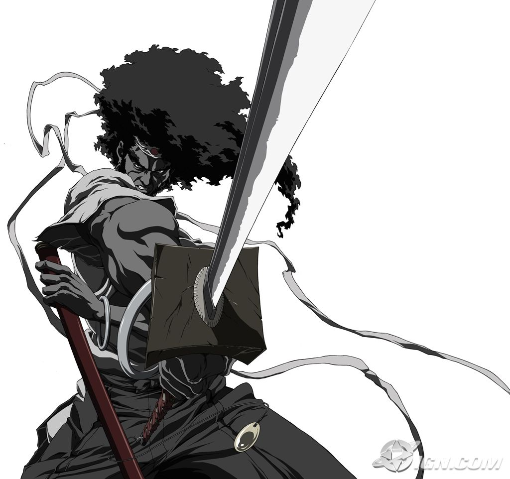 afro samurai Created by takashi okazaki with samuel l jackson, phil lamarr, yuri lowenthal, greg eagles a black samurai goes on a mission to avenge the wrongful death of his father in a futuristic.
