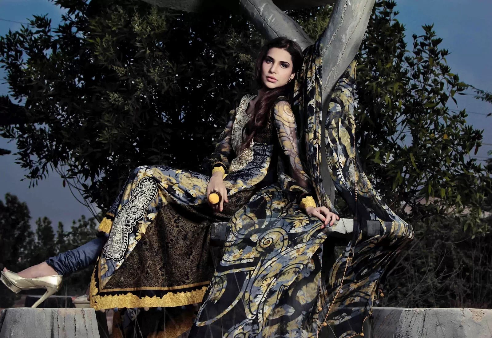 Sabiha Lawn Collection 2012