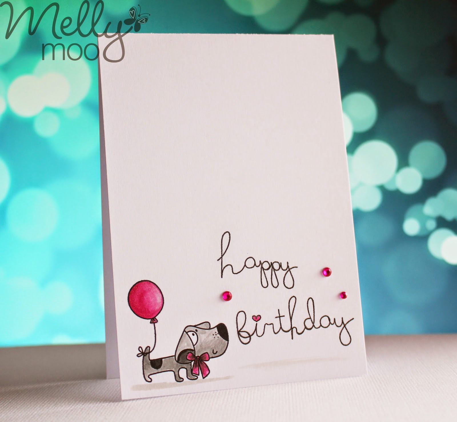 Craft Mojo Happy Birthday Dog