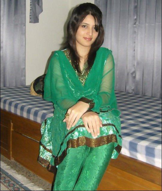 Punjabi girl green dressed