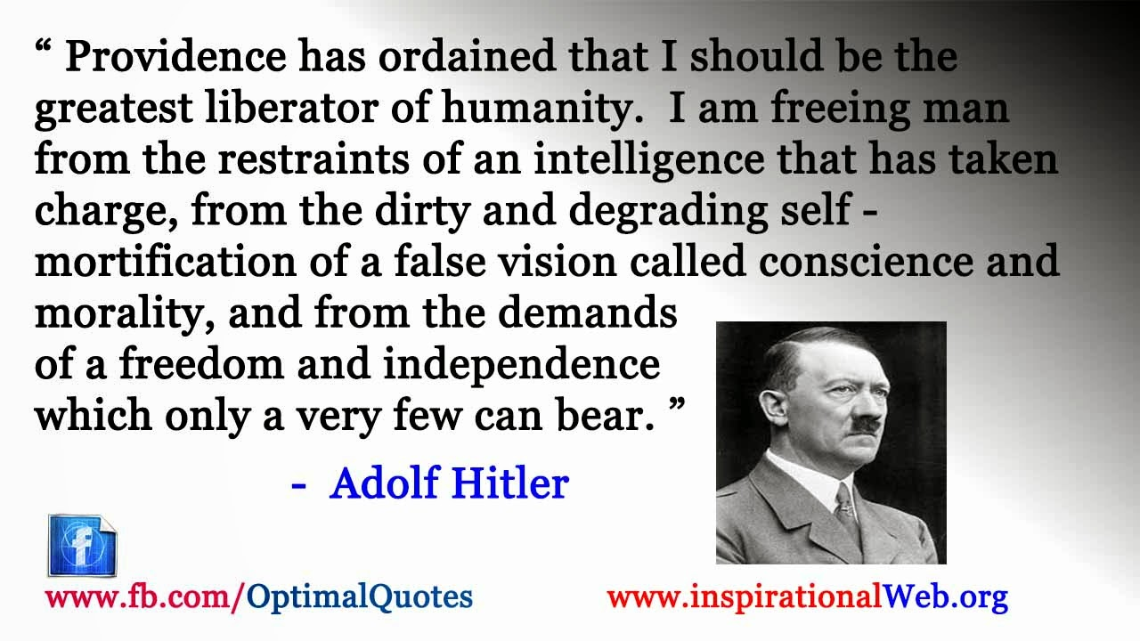 Famous Inspirational Quotes Famous Quotesadolf Hitler  Famous Inspirational Quotes Web
