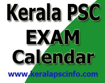 PSC exam calendar November 2014,  November 2014 exam