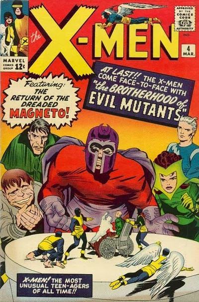 X-Men #4, Magneto and the Brotherhood of Evil Mutants