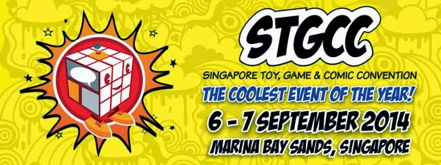 Supporting partner of Singapore Toy, Game and Comic Convention 2014
