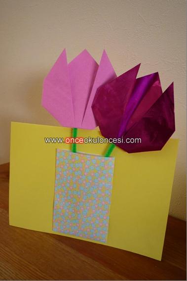 Как сделать подарок бабушке из белой бумаги