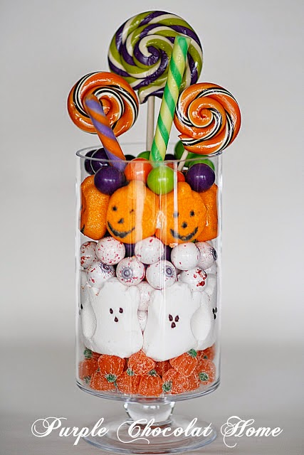 7 Layer Halloween Candy Salad