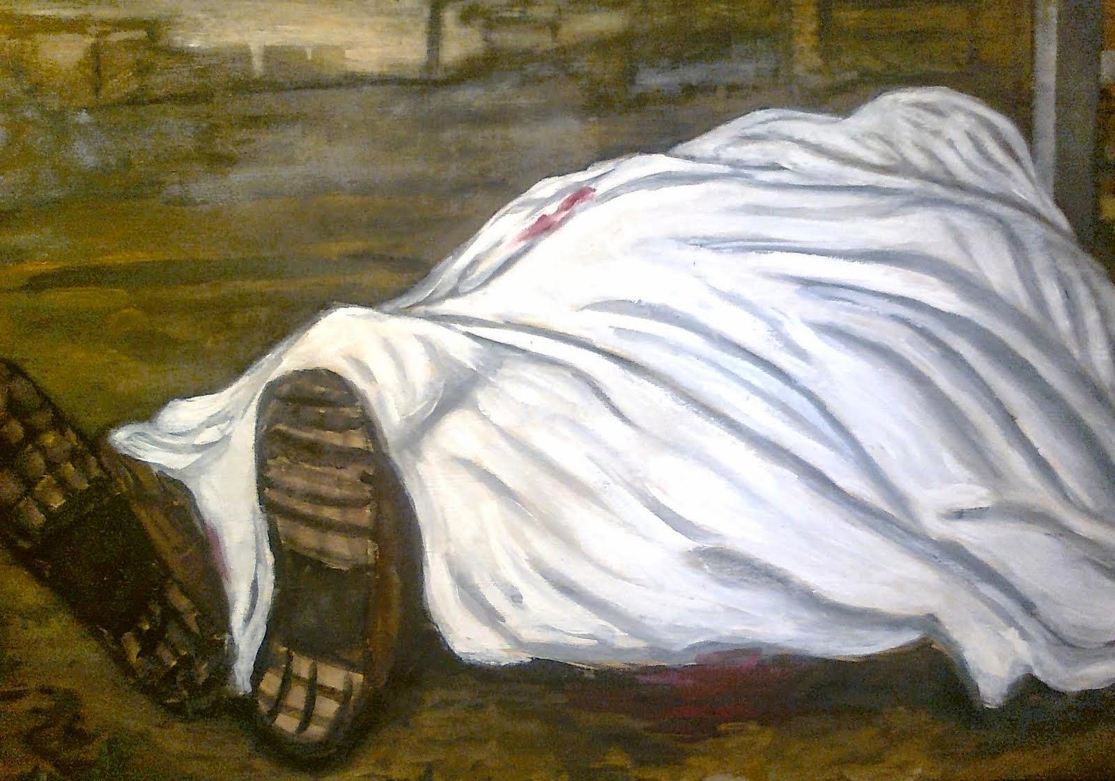 Morti bianche opera di carlo soricelli