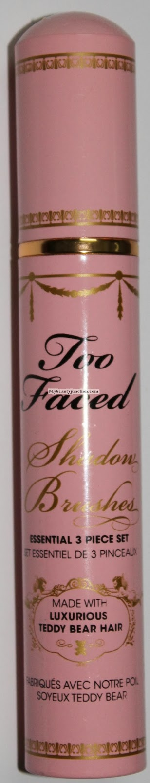 Review: Too Faced Shadow Brushes Essential 3-Piece Set