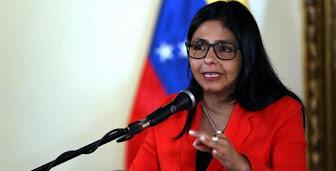 Delcy Rodríguez: EE.UU. negó visas a diplomáticos venezolanos para asistir a eventos internacionale