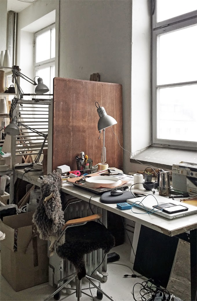 Anna Lerinder´s creative studio