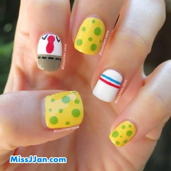 Missjjans Beauty Blog Tutorial Spongebob Squarepants Inspired