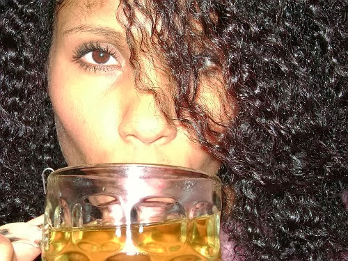 Herbal Tea for Hair Growth- Drink Rinse Your Way to Longer, Thicker Natural Hair