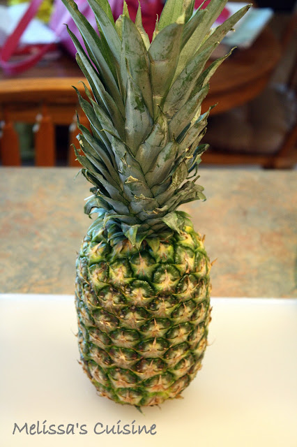 Melissa's Cuisine: Pineapple: Tips and Tricks
