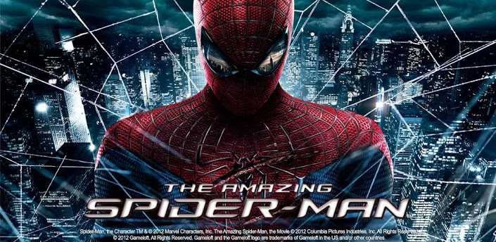 The Amazing Spider Man Android QVGA   APK + DATA