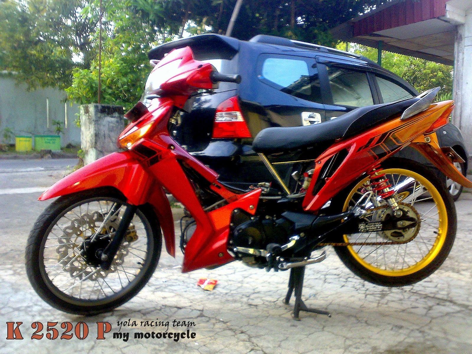 Foto Modifikasi MotorSupra X 2014 title=