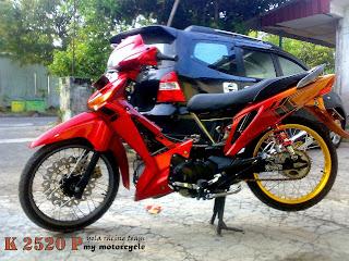 Foto Modifikasi MotorSupra X 2014