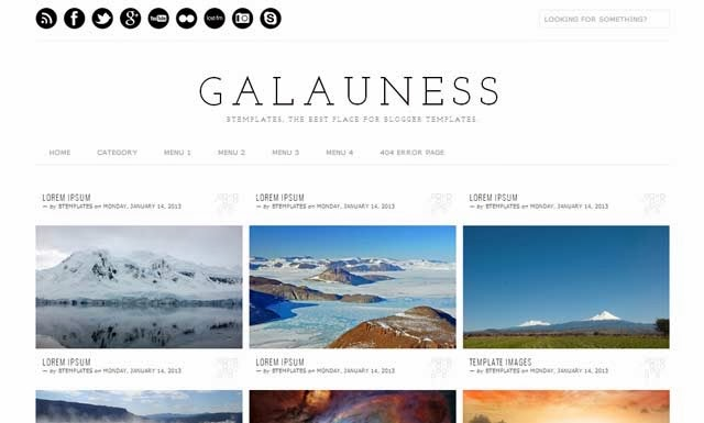 Top 10  Free Blogger Templates For Magazine,sports,News,Tech