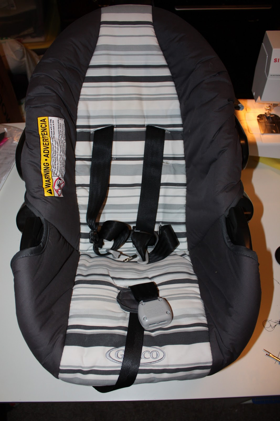 I Can Find The Time Car Seat Slip Cover