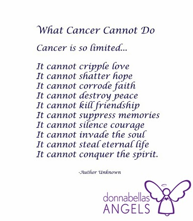 What cancer cannot do poem english what cancer cannot do