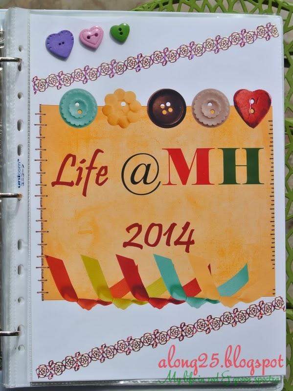 project life 2014 project life malaysia kit tutorial diari bergambar pocket scrapbook poket diari mingguan