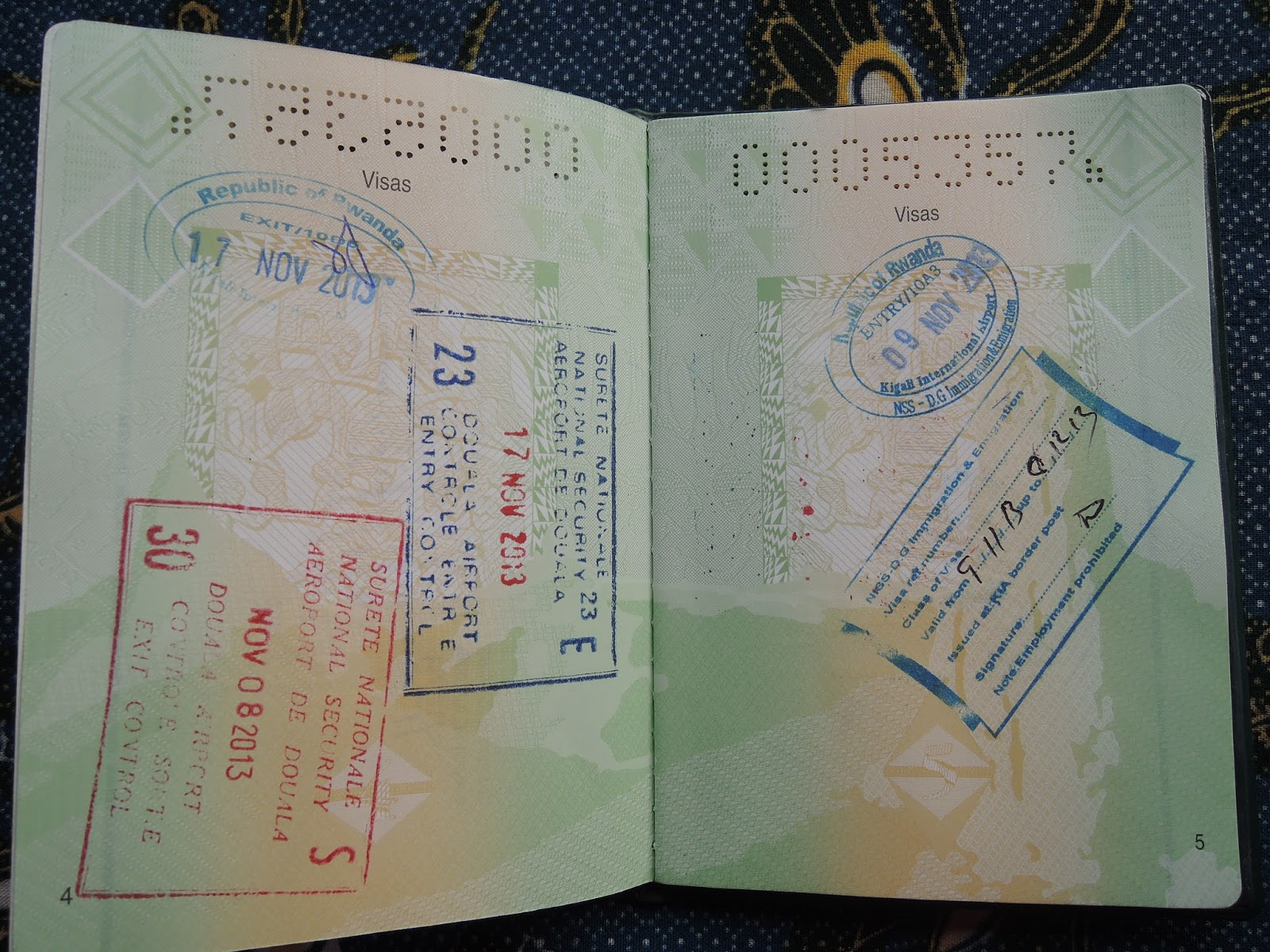 The cameroonian traveller visa on arrival policy in africa rwanda rwandacameroon exit and entry visas spiritdancerdesigns Gallery