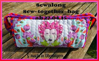 Wir nähen zusammen die Sew-together-bag