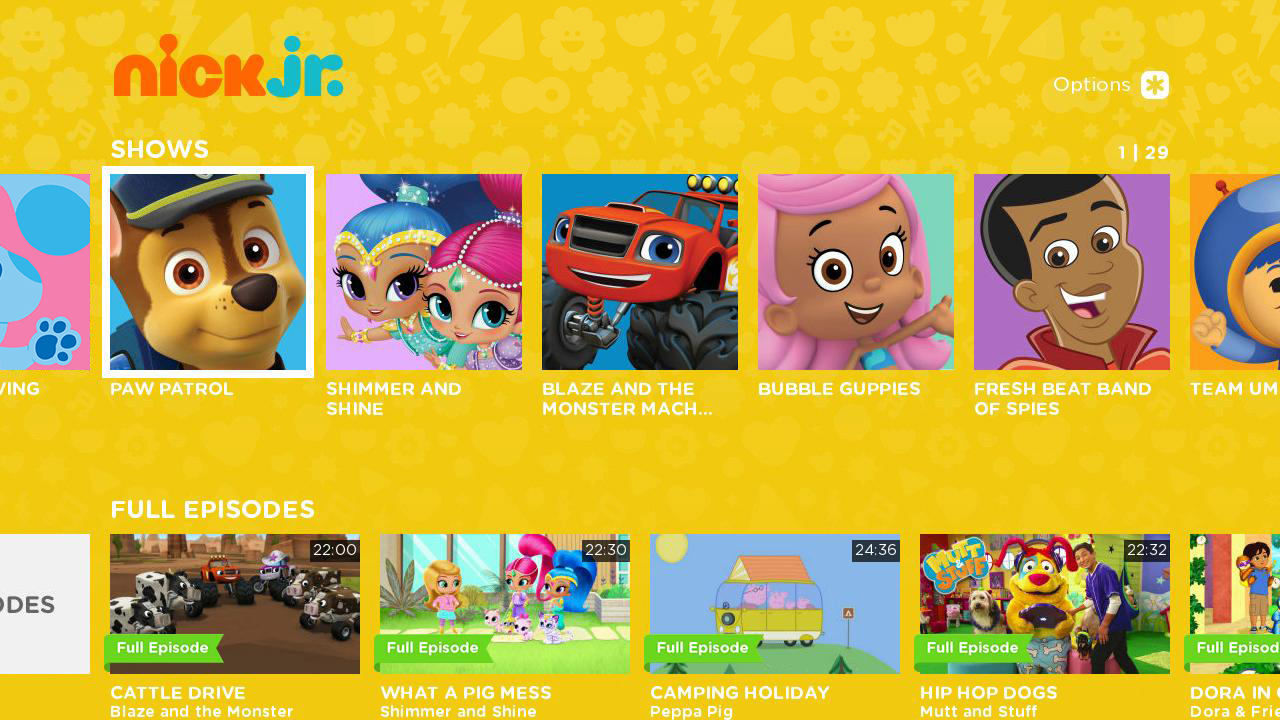Nickalive Nickelodeon Usa Launches Nick Jr App On Roku