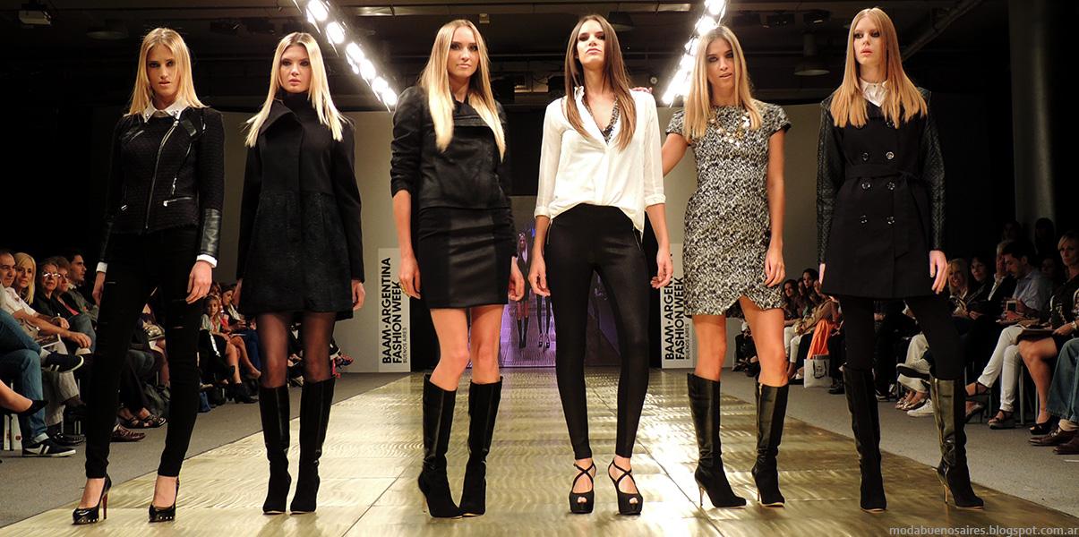 Moda Argentina Semana de la Moda BAAM 40 - Markova desfile colección otoño invierno 2014.