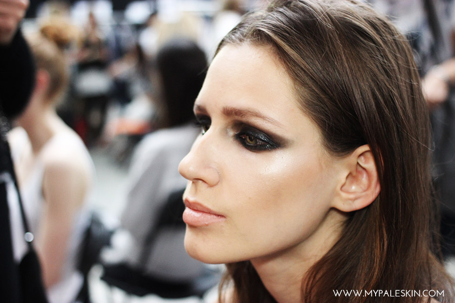 Bourjois Graduate Fashion Week backstage make up catwalk