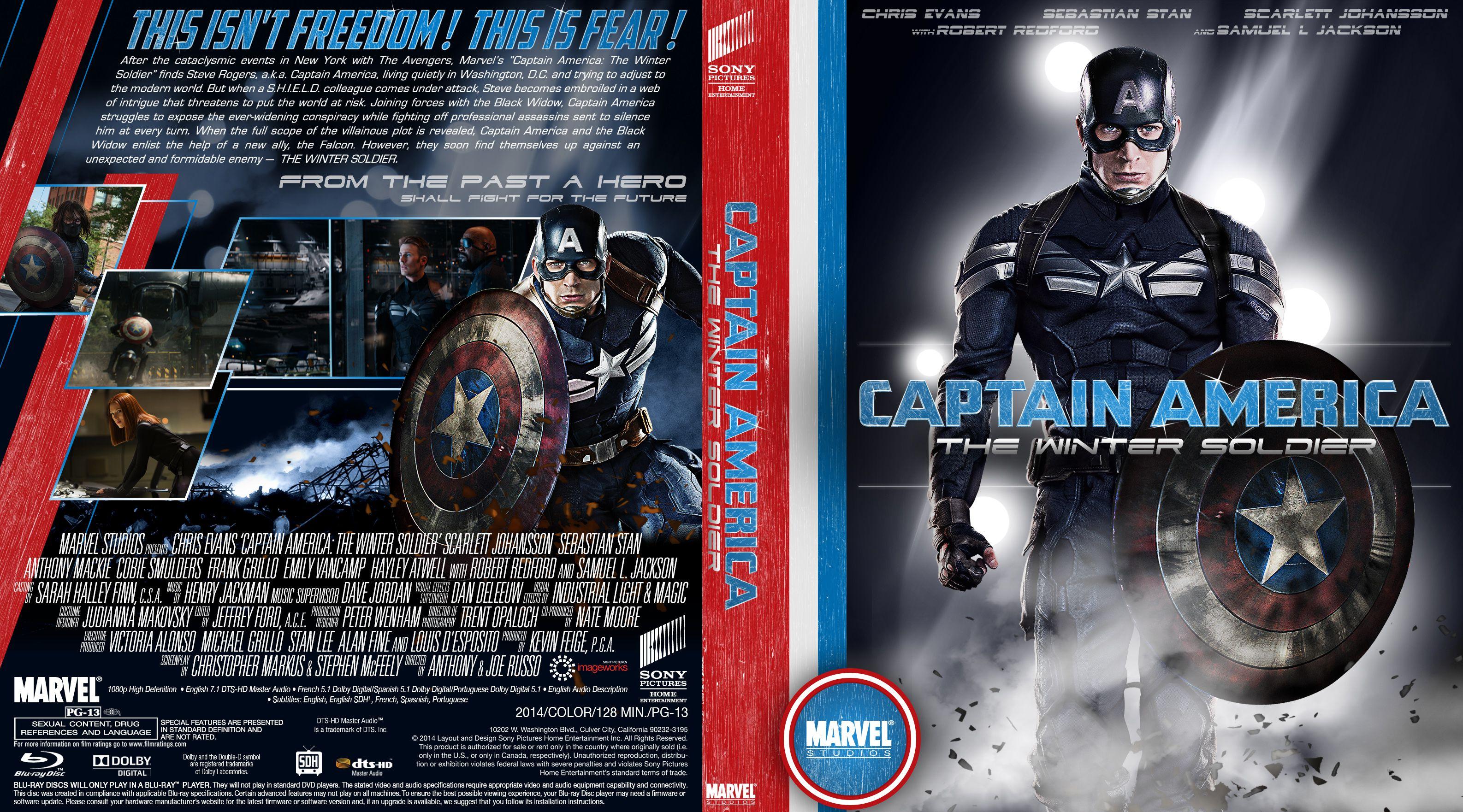 Capa Bluray Captain America The First Avenger