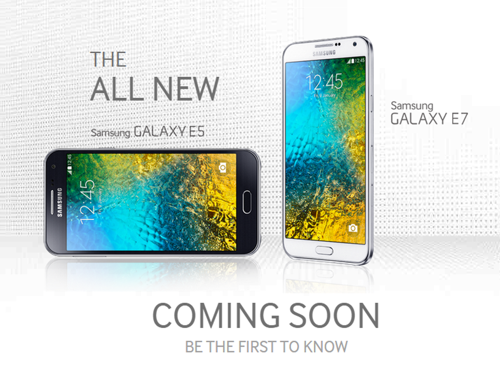 Samsung Galaxy E5 and Galaxy E7 Announced!