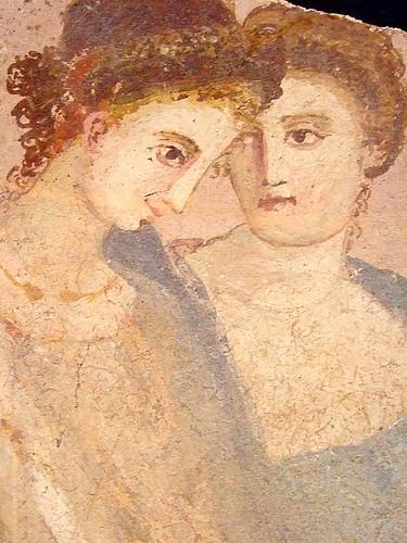 maquillage femme rome antique