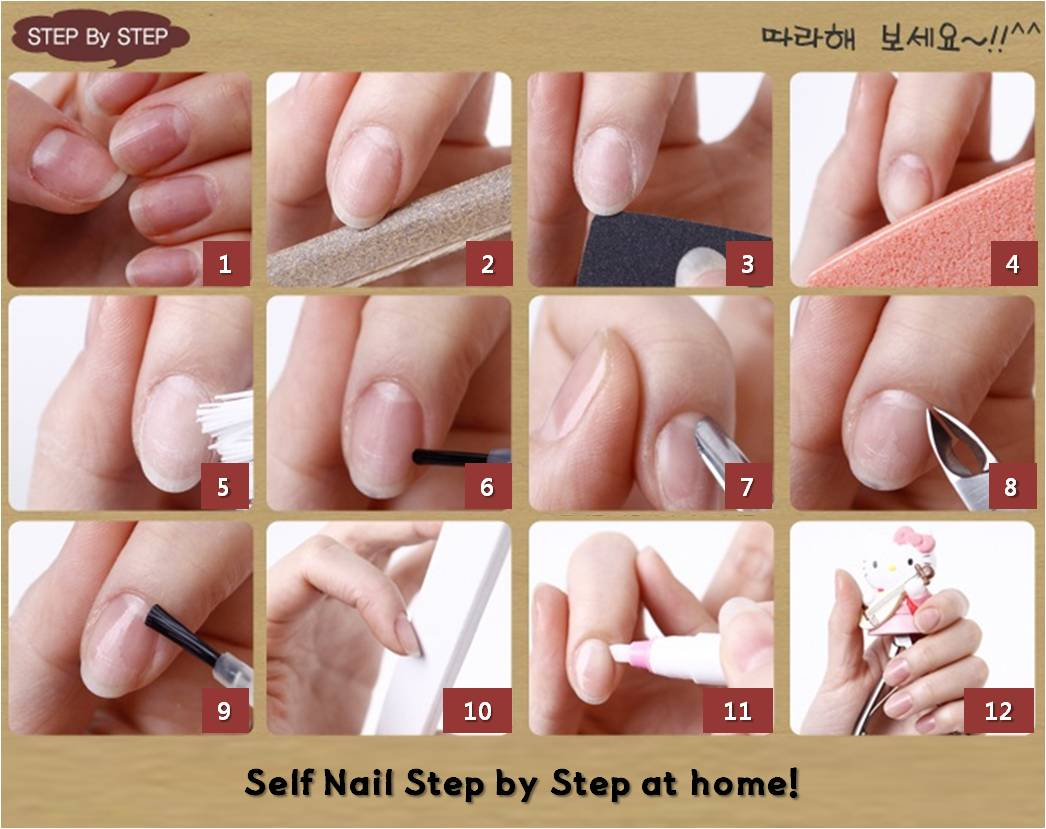 SARA NAIL: Nail Care at Home, Nail Care Tips, Self Nail Step by Step