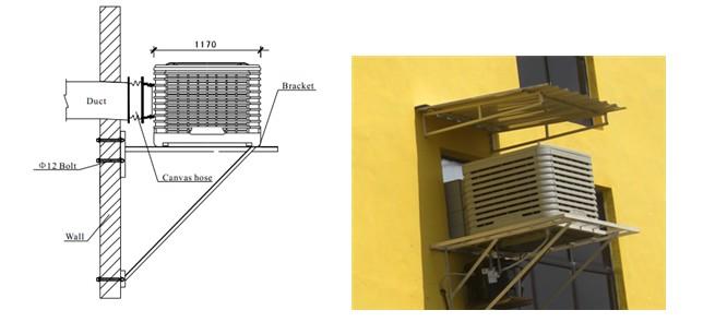 Evap Cooler Installation : Aolan evaporative air cooler