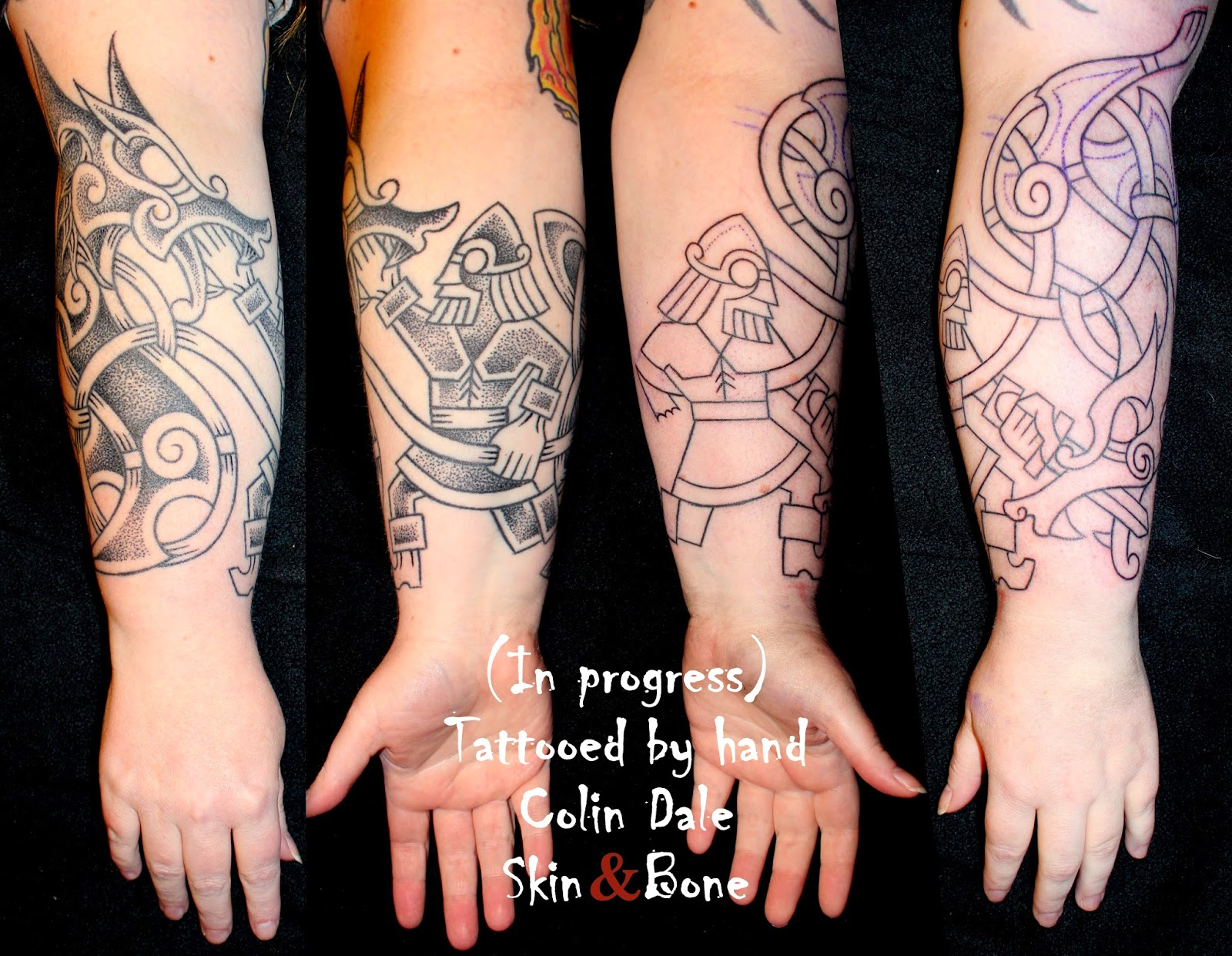 Skin Bone Conventions And Prisons Handpoked Tattoos